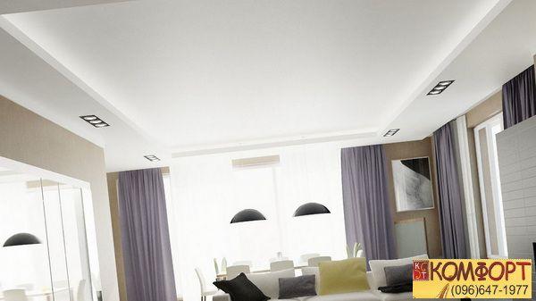 Парящий потолок натяжной