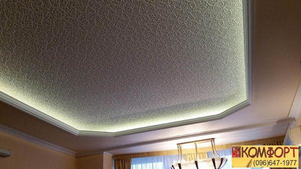 Потолки натяжные дизайн