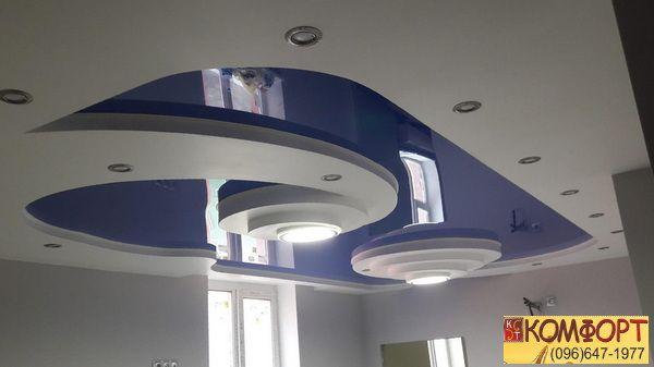 Потолок натяжной матовый