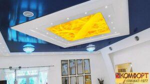 Натяжные потолки варианты
