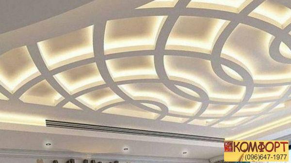 Ситцевый потолок натяжной