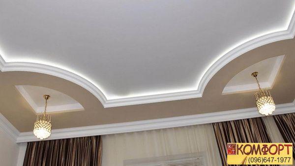 3д потолки натяжные