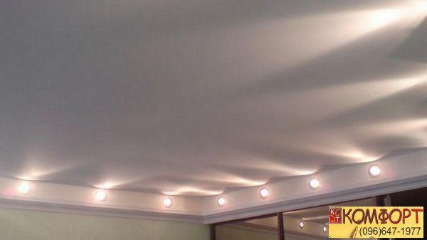 Натяжной потолок это